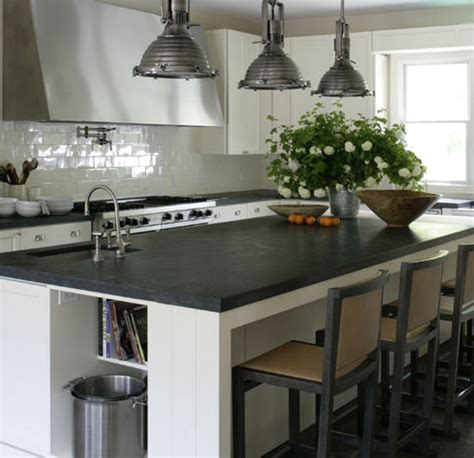 soapstone kitchen island kitchen island with two countertops transitional
