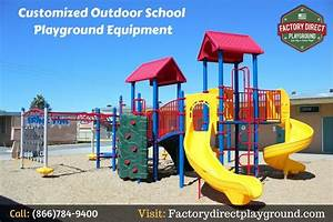 Customized Outdoor School Playground Equipment ...