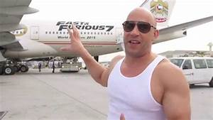 Furious 7 Vin Diesel Interview at Fast & Furious 7 LAX ...