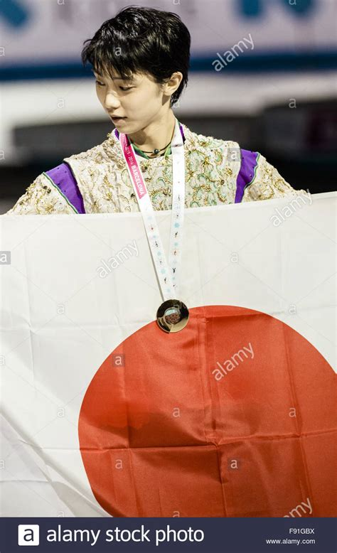 Yuzuru Hanyu Barcelona 2015 Stock Photos & Yuzuru Hanyu ...