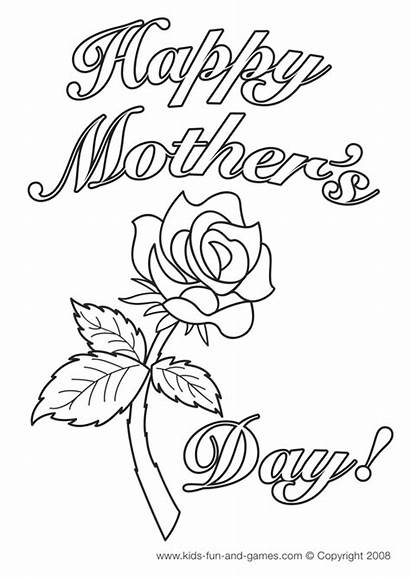 Coloring Mother Pages Printable Mothers Sheets Printables