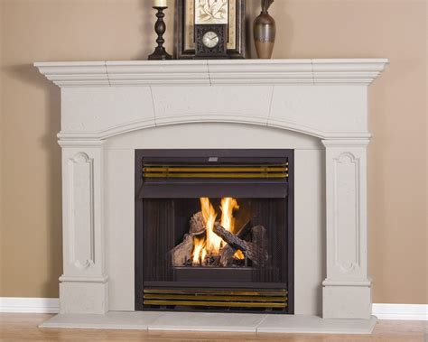 Living Room 16 Beautiful Fireplace Mantel Design Ideas