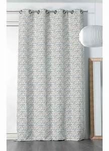 Rideau Blanc Et Bleu : rideau esprit triangulaire blanc jaune et bleu homemaison vente en ligne rideaux ~ Teatrodelosmanantiales.com Idées de Décoration