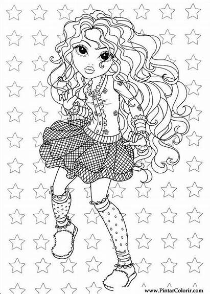 Mc2 Project Coloring Pages Moxie Template Girlz