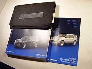 2012 Honda Pilot Owners Manual  Paperback  Honda