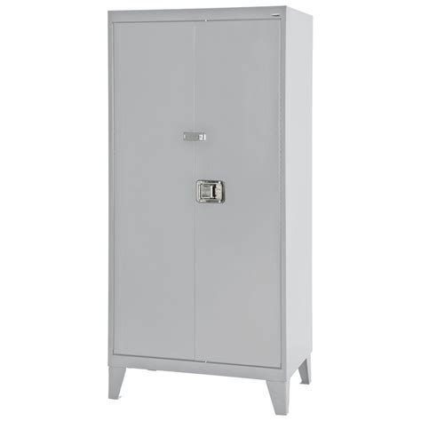 hdx 35 in w 4 shelf plastic multi purpose tall cabinet in
