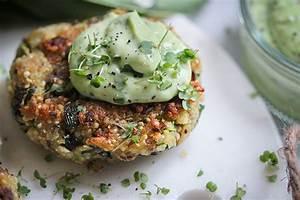 Was Macht Man Mit Avocado : quinoa b rlauch buletten mit w rzigem avocado dip veggies vegan ~ Yasmunasinghe.com Haus und Dekorationen