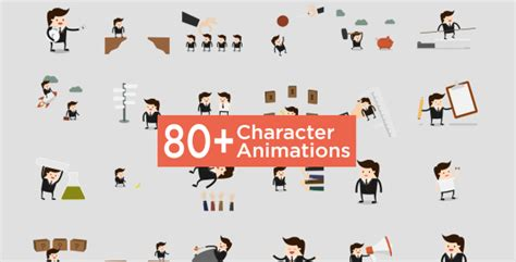 After Effects Product Promo Templates Bobby Character Animation Diy Pack by Character Animation Pack Product Promo After Effects
