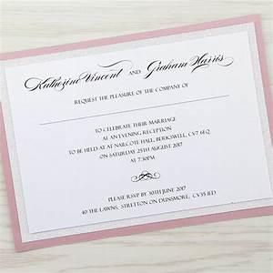 sparkle evening invitation pure invitation wedding invites With cheap handmade wedding invitations uk