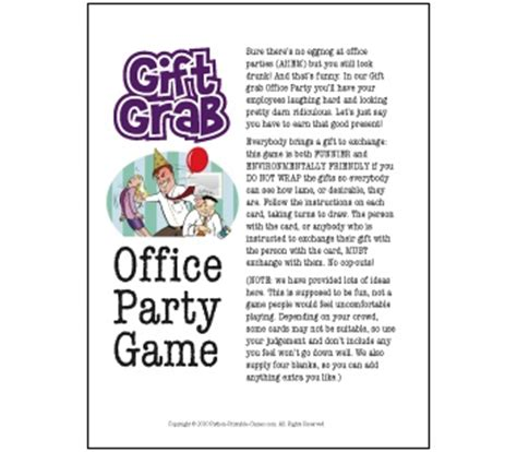 office party games america s best lifechangers