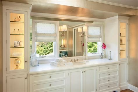 White Bathroom Cabinets, Bathroom Floor To Ceiling