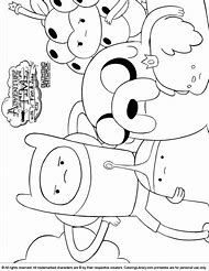 Best Adventure Time Coloring Pages Ideas And Images On Bing Find