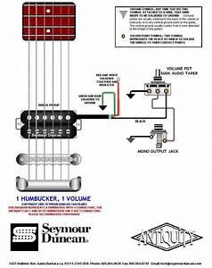 Guitar Bridge Wiring Diagram