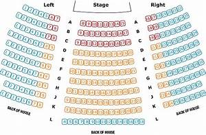 Rocky Mountain Repertory Theatre Seating Chart