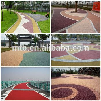 resin bound permeable paving  pedestrian  vehicle