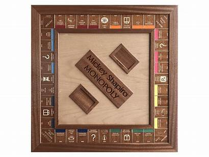 Monopoly Board Wood Boards Mahogany Beech European