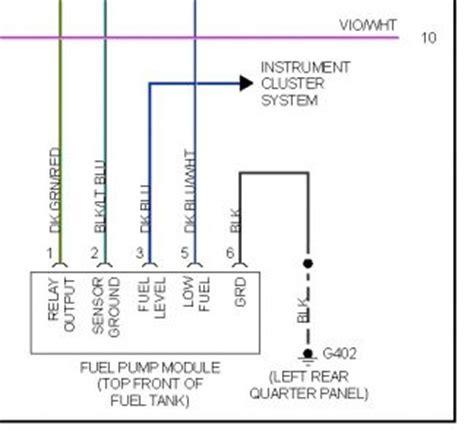 jeep yj fuel pump wiring diagram schema wiring diagram