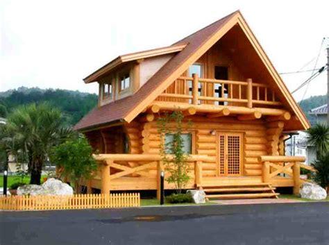 model rumah kayu minimalis unik gambar desain rumah