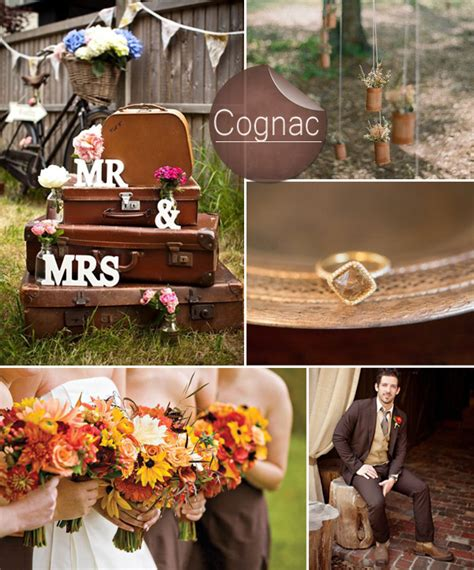 country wedding colors top 10 pantone fall wedding colors 2014 trends