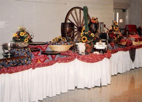 adult western themed table decorations themes frequently