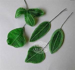 How To Make Bead And Wire Leaves Tutorials