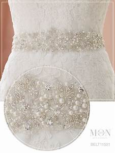 best 25 wedding dress sash ideas on pinterest wedding With pearl belt for wedding dress