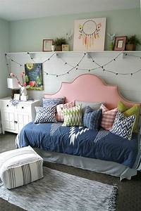 61 best decoration chambre d39ado fille images on pinterest With deco chambre ado fille