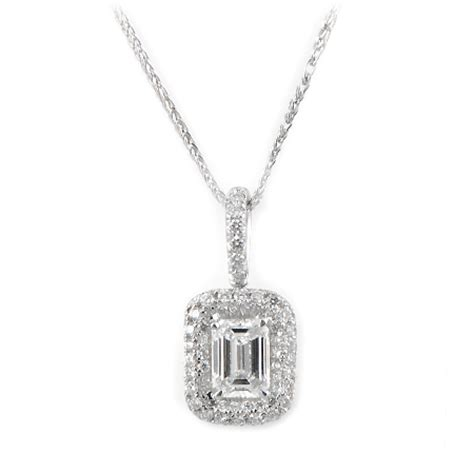 Emerald Cut Diamond Halo Pendant In 18k White Gold. 24k Gold Anklet. Costume Jewellery Engagement Rings. Unique Wedding Rings. Manual Wind Watches. Gift Rings. Initial Bangle Bracelet. Princess Cut Diamond. Wedding Band Diamonds All Around