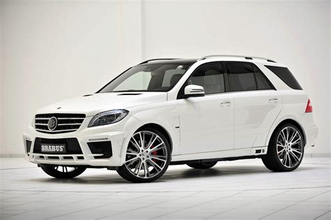 Brabus Unleashes 700 Hp Mercedes-benz Ml 63 Amg
