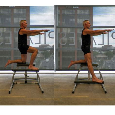 Pilates Chair Exercises by 25 Best Ideas About Pilates Chair On Chair