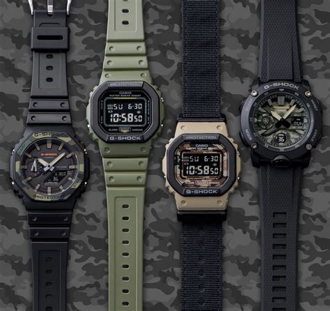 bulletproof   shock utility series wristwatches