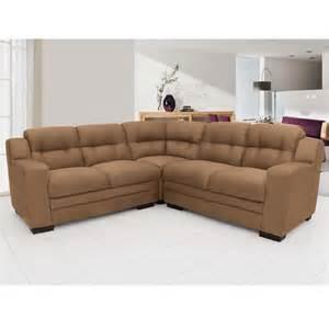sofa de sofá de canto linoforte zara em suede sofás no pontofrio