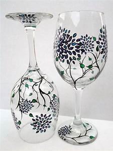 40, Artistic, Wine, Glass, Painting, Ideas