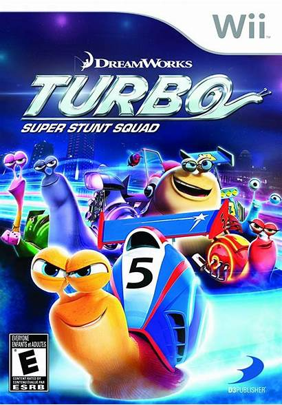 Wii Turbo Super Squad Stunt Nintendo Dolphin