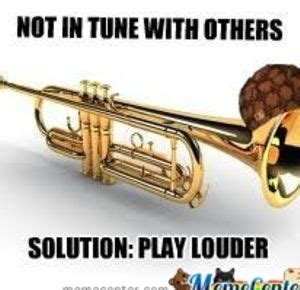 Trumpet Player Memes - image gallery trumpet memes