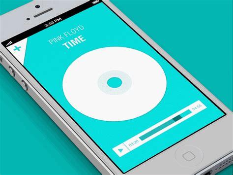 Music App (gif Animation) By Eyal Zuri