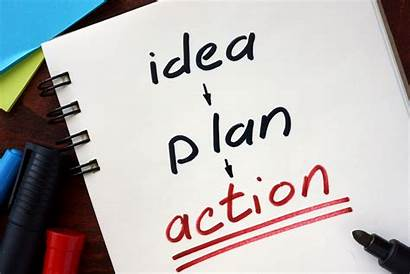 Action Plan Idea Strong Planning Plans Executing