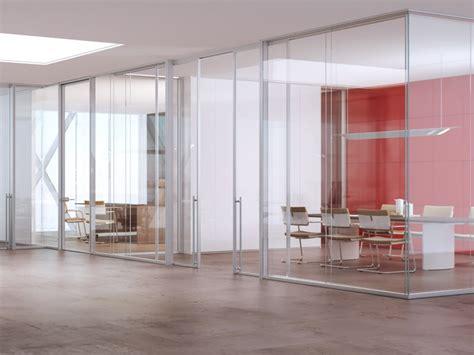 cloison aluminium bureau cloison amovible de bureau en aluminium et verre allinone