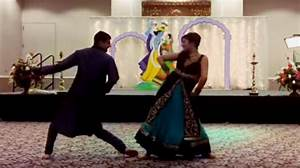 watch bride and brother pull of epic wedding dance With hit the floor dance routines