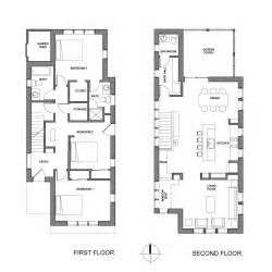 row home floor plans chuck s house kuhn riddle architects