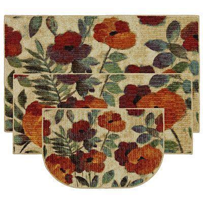 mohawk home august garden kitchen rug kitchen rug