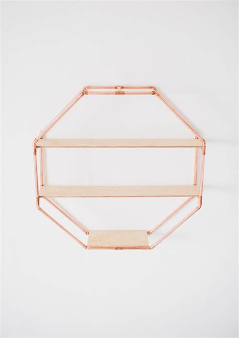 table and 6 chairs copper octagon statement shelf wall hanging the deer