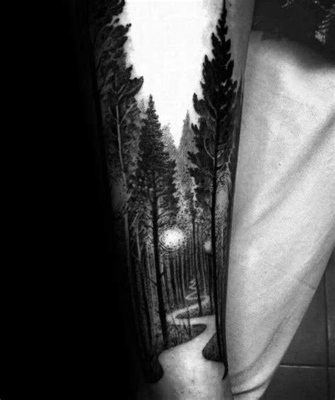 tree leg tattoo design ideas  men rooted ink