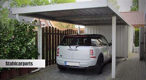 Stahlcarport Preis  Carport In Holz, Alu, Stahl Carport