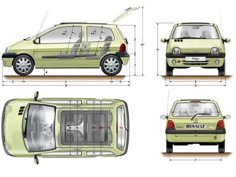 dimension coffre twingo 2 images results for dimension twingo images frompo