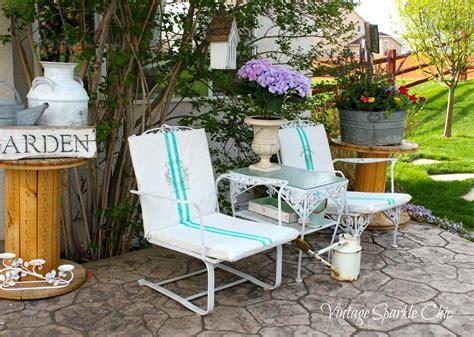 Shabby Chic Patio Chair Cushions Shabby Chic Garden Junk
