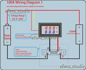Wiring Diagram Without Shunt Amp Meter