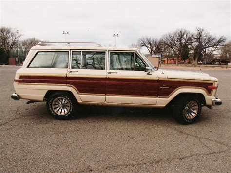 jeep station wagon 2016 1985 jeep wagoneer station wagon 61029