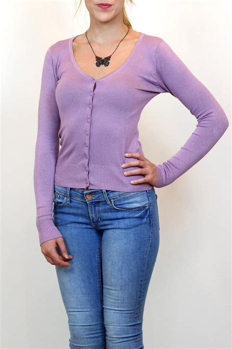 lilac sweater debut cora cardigan lilac from vancouver by carte blanche