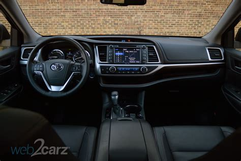 toyota highlander hybrid limited review webcarz